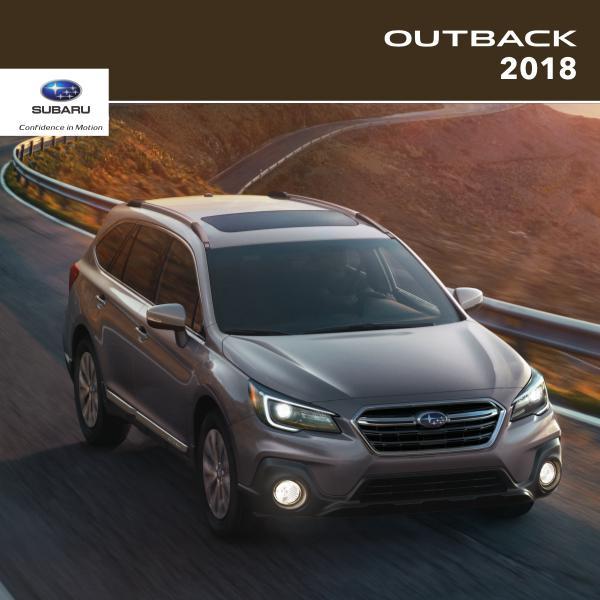 2018 Outback Brochure