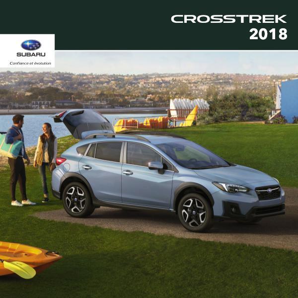 Brochure Crosstrek 2018