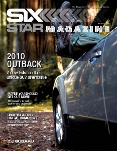Six Star Magazine Winter 2009/2010 Outback