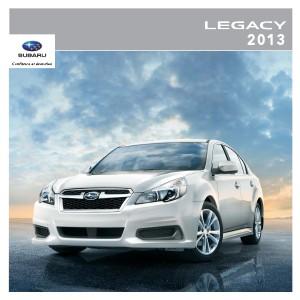 Brochure Legacy 2013