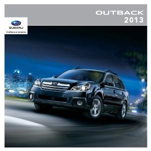 Brochure Outback 2013