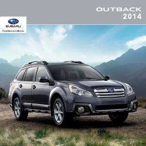 2014 Outback Brochure
