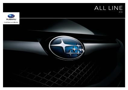 Subaru WRX & WRX STI Brochures 2012 All Line Brochure
