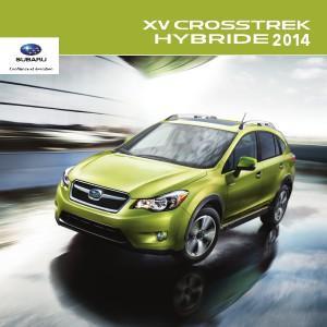 Brochure XV Crosstrek hybride 2014