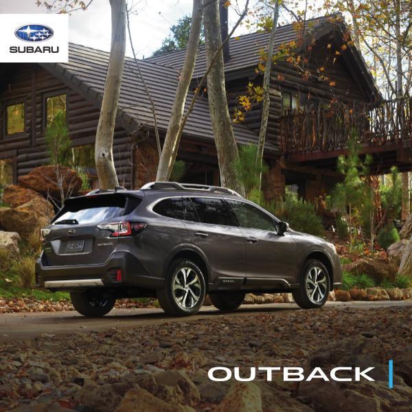 Subaru Outback Brochures 2020 Outback Brochure