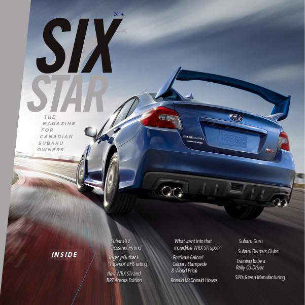 Six Star Magazine 2014