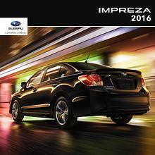 Subaru Impreza Brochures