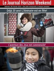 Horizon Weekend Montréal 08 Février 2014
