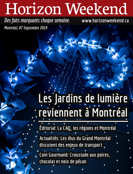 Horizon Weekend Montréal 07 Septembre 2014