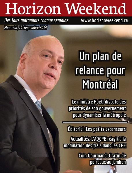 Horizon Weekend Montréal 14 Septembre 2014