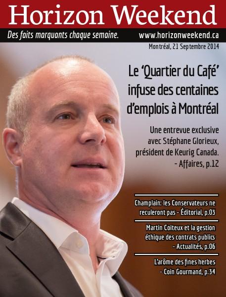 Horizon Weekend Montréal 21 Septembre 2014