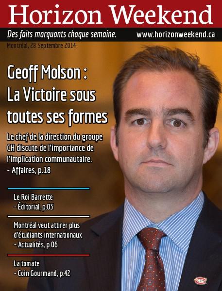 Horizon Weekend Montréal 28 Septembre 2014