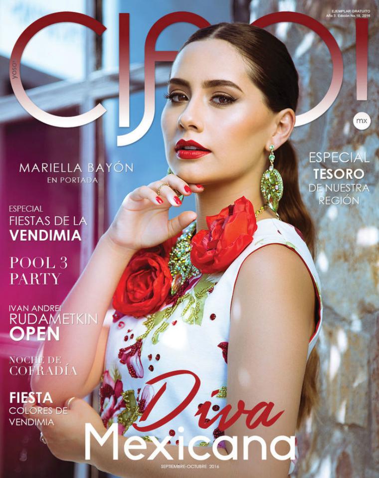 Diva Mexicana   Septiembre-Octubre 2016