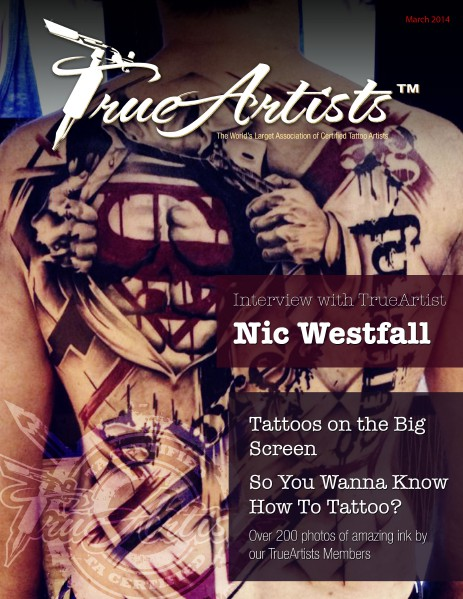 TrueArtists Tattoo Magazine Issue 2 March 2014