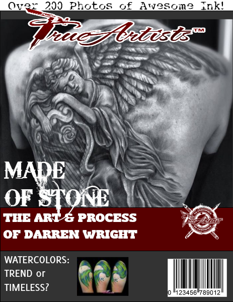 TrueArtists Tattoo Magazine Issue 3 July 2014