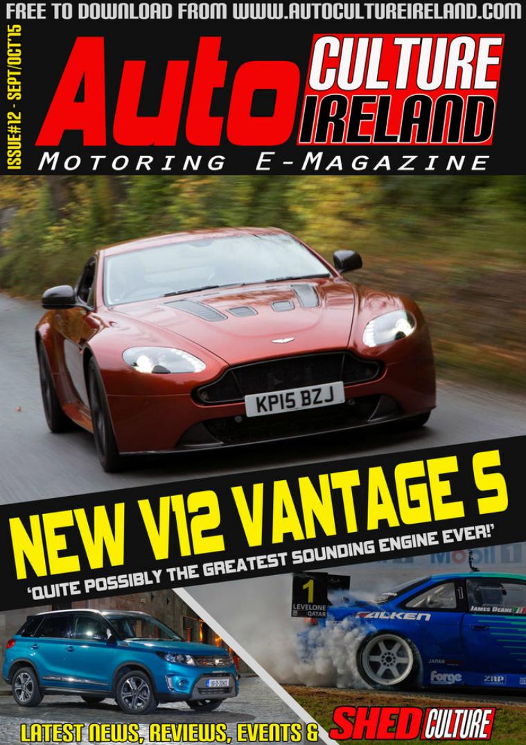 Auto Culture Ireland Issue #12 Sep/Oct 2015