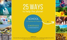 SCHOOL [English] :   50 WAYS TO HELP THE PLANET
