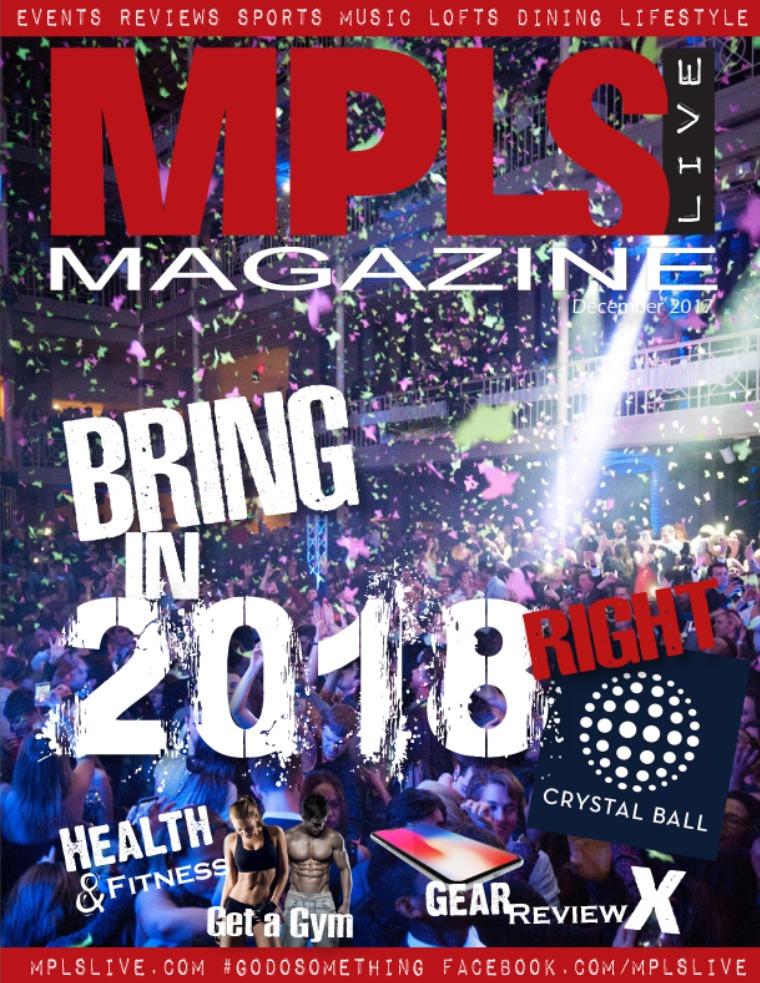 Minneapolis Live Magazine December 2017