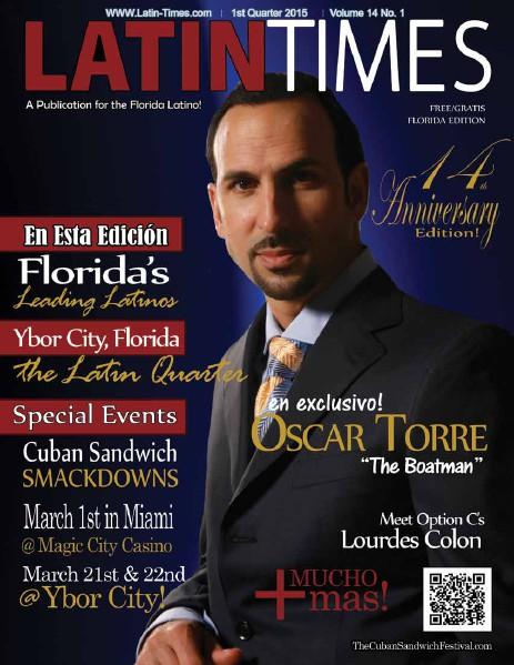 Latin Times Magazine Volume 14 No 1