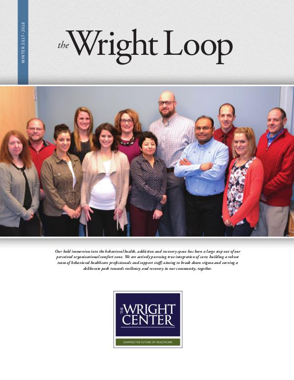The Wright Loop The Wright Loop | Winter - Spring 2018