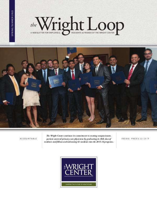 The Wright Loop The Wright Loop | Summer - Fall 2015