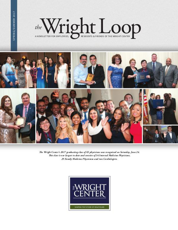 The Wright Loop The Wright Loop | Winter - Spring 2017