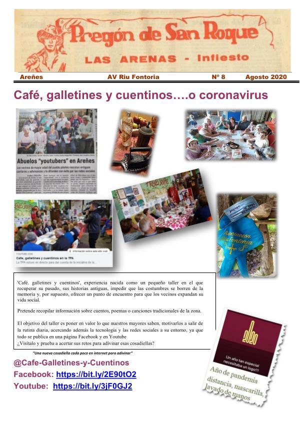 2020 Pregón de San Roque -Areñes (Piloña Asturias