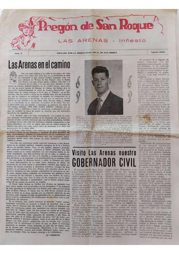 Pregón de San Roque Ejemplar original de 1960