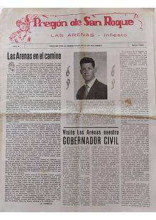 1960 Pregón de S. Roque-Areñes (Piloña Asturias)