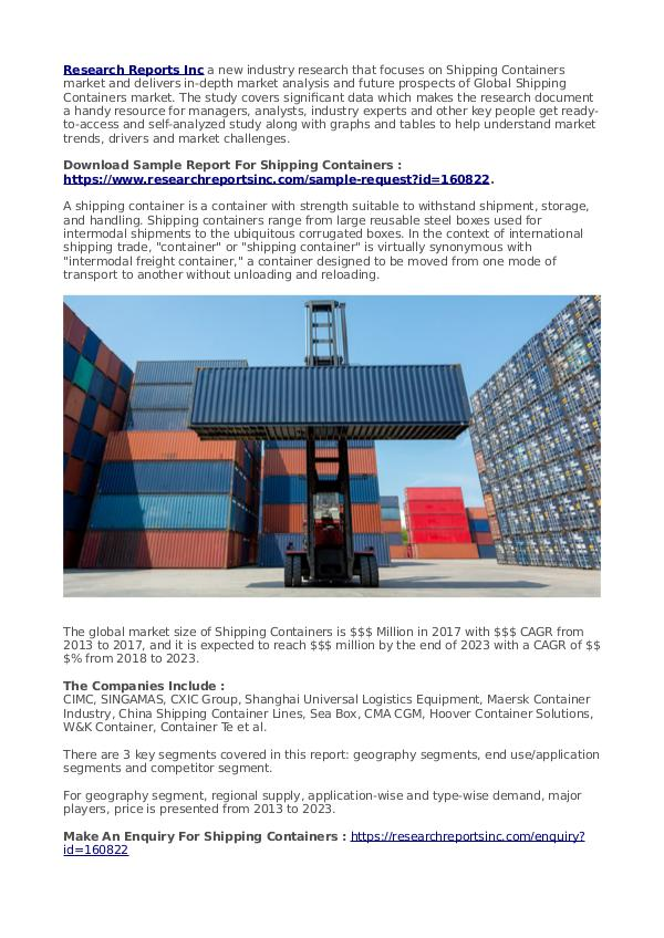 Trend Things Shipping Containers