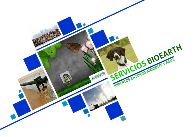 BIOEARTH Catálogo de Servicios
