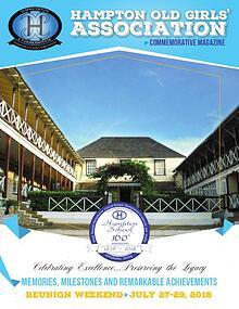 Hampton School 160th Anniversary Commemorative Magazine