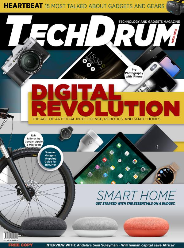 TechDrum Digital Revolution, July 2018