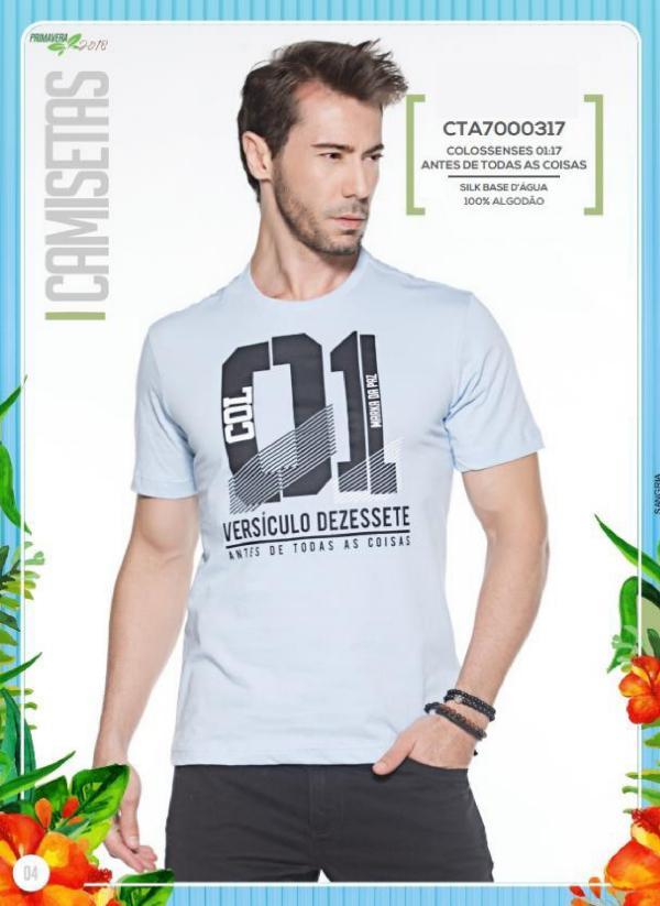 Camisetas Masculinas Camisetas