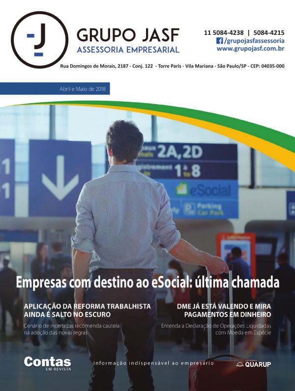 Revista - GRUPO JASF Abril Maio 2018