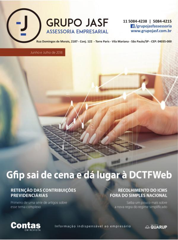 Revista - GRUPO JASF Junho e Julho 2018
