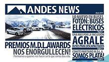 ANDES NEWS Enero 2019