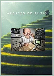 APORTES E INVENTOS DE RUSIA