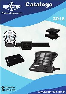 Catalogo Espectro 2018