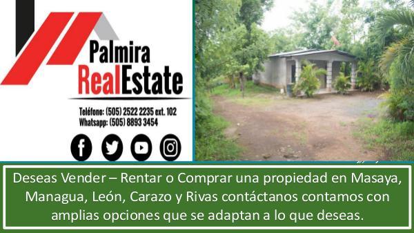 venta de casas pacayita - masaya VENTA DE CASAS EN PACAYITA MASAYA