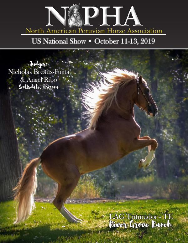 2019 NAPHA US National Show Program 2019 NAPHA Program digital
