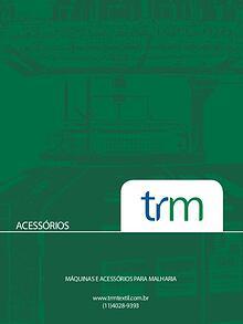 Catálogo Acessórios - TRM TEXTIL