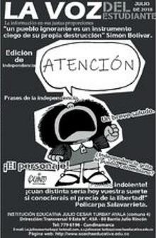 La voz de el estudiante 2da edición