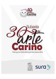 30 SUBASTA DE ARTE CARIÑO