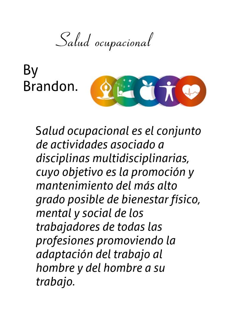 Salud ocupacional 4