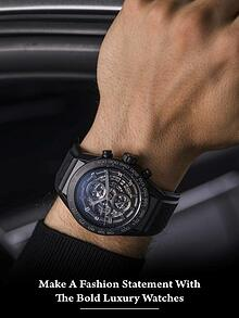 Make A Fashion Statement With the Bold Luxury Watches
