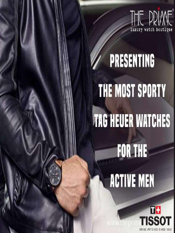 Presenting the Most Sporty Tag Heuer Watches For the Active Men Presenting the Most Sporty Tag Heuer Watches For t