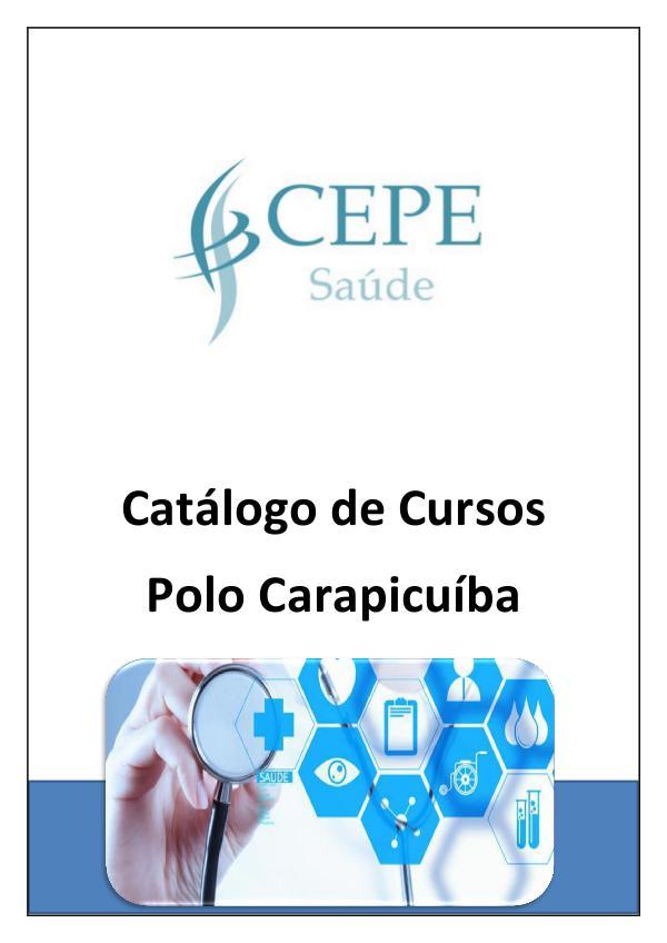 Catálogo de Cursos - Polo Carapicuíba Catálogo de Cursos Carapicuíba