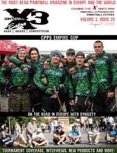 PaintballX3 Magazine August, 2013 Euro