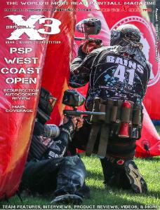 PaintballX3 Magazine August 2013, PaintballX3 Magazine